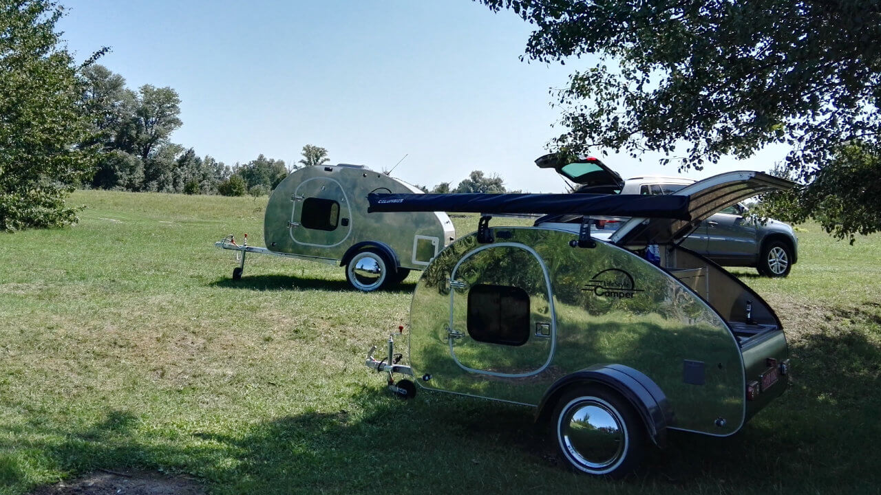 Prodej karavanů - Karavan SteelDrop 5