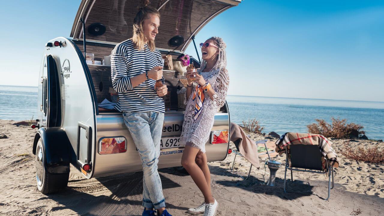 Prodej karavanů - Karavan SteelDrop 8