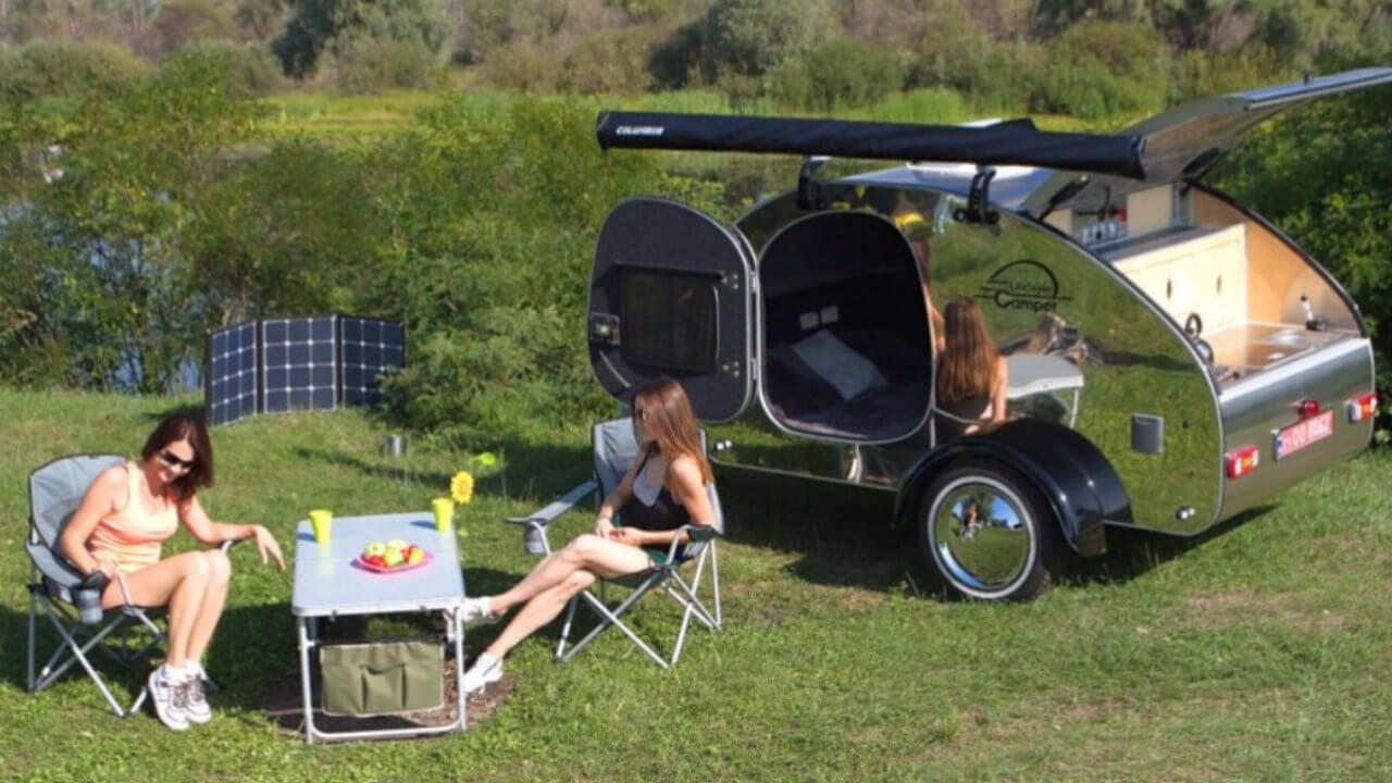 Prodej karavanů - Karavan SteelDrop 4